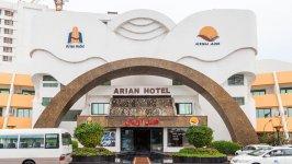 هتل آریان کیش نمای بیرونی