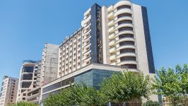 هتل پارسیس مشهد نمای بیرونی
