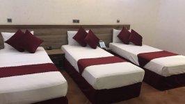 هتل مجتمع جهانگردی کرمان اتاق سه تخته