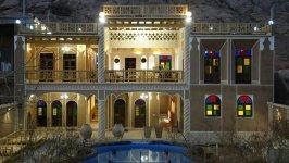 اقامتگاه سنتی باغ دو سرو تفت فضای داخلی اقامتگاه 1