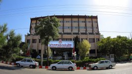 هتل پارسیان آزادی همدان نمای بیرونی
