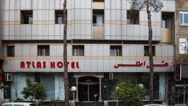 نمای بیرونی هتل اطلس شیراز