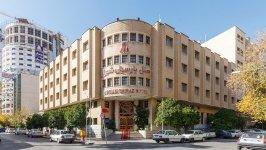 هتل پارسیان شیراز نمای بیرونی