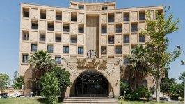 هتل امیرکبیر کاشان نمای بیرونی