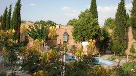 هتل جهانگردی ماهان کرمان فضای بیرونی هتل 2