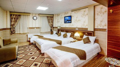 هتل الزهرا یزد اتاق چهار تخته 2