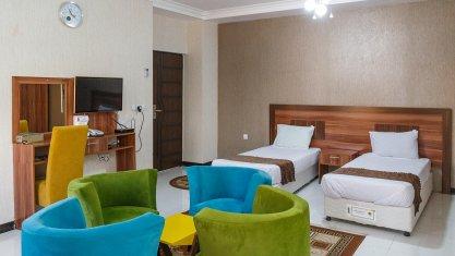 هتل رویال قشم اتاق دو تخته تویین