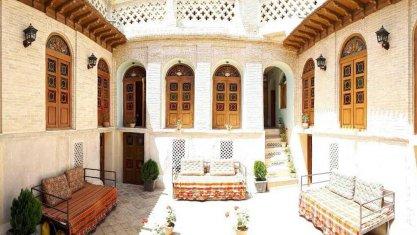 اقامتگاه سنتی سپهری شیراز فضای داخلی اقامتگاه