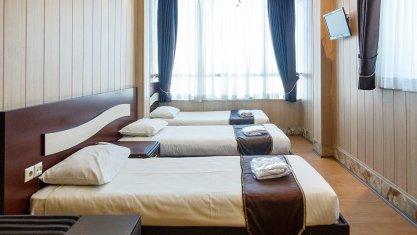 هتل تهران درسا تهران اتاق سه تخته