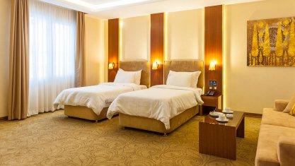 هتل رفاه مشهد اتاق دو تخته تویین