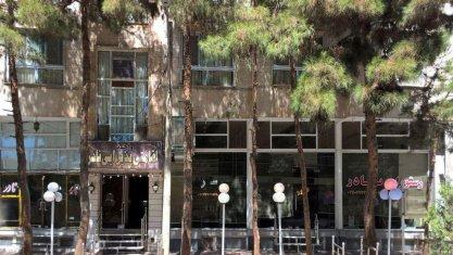 هتل آپارتمان نادر شاهرود نمای بیرونی