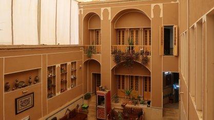اقامتگاه سنتی الماس یزد فضای داخلی اقامتگاه 1