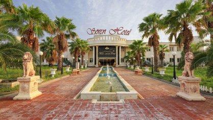 هتل بزرگ سورن ماهشهر نمای بیرونی