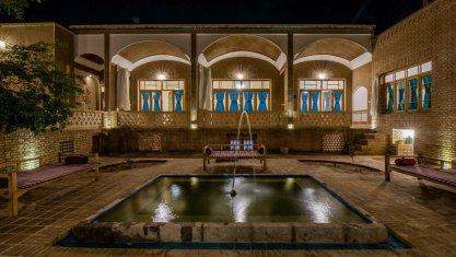 اقامتگاه بومگردی سرای آقا محمد کاشان فضای داخلی اقامتگاه 1
