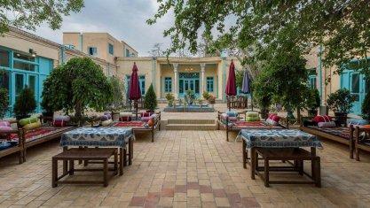 اقامتگاه بومگردی سرای سنتی هاتف اصفهان فضای داخلی اقامتگاه 4