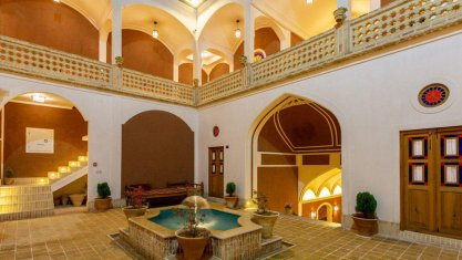 اقامتگاه سنتی بابا افضل کاشان فضای داخلی اقامتگاه 1