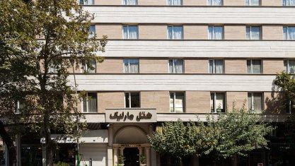 هتل مارلیک تهران نمای بیرونی