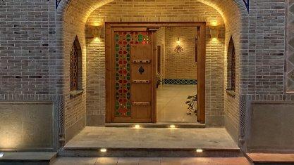 هتل سنتی درباری شیراز نمای بیرونی