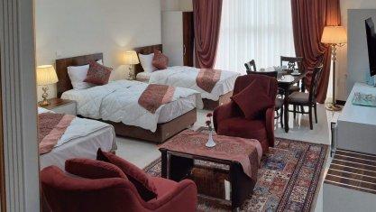 هتل آرمتیس یزد فضای داخلی سوئیت ها 1