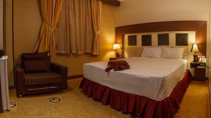 هتل دیپلمات مشهد اتاق دو تخته دابل 3