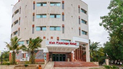 هتل فلامینگو کیش نمای بیرونی
