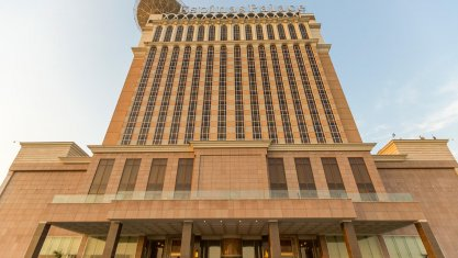 هتل اسپیناس پالاس بهرود تهران نمای بیرونی