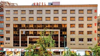 هتل آرامیس تهران نمای بیرونی