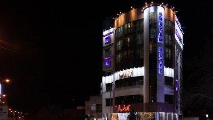 هتل آپارتمان خاتم همدان نمای بیرونی