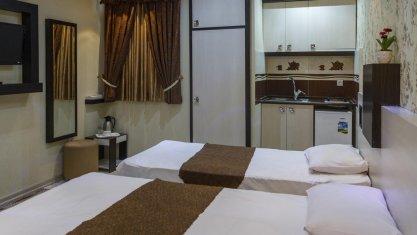 هتل آپارتمان اسپینو مشهد اتاق دو تخته تویین