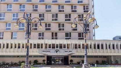 هتل هما تهران نمای بیرونی