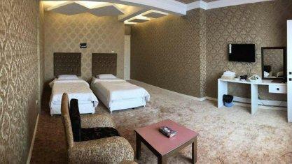 هتل رضوان خلیج فارس سرعین اتاق دو تخته تویین