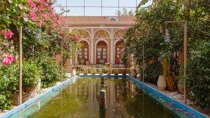 هتل کهن کاشانه یزد فضای بیرونی هتل 1