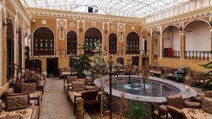 هتل سنتی رز یزد فضای داخلی هتل