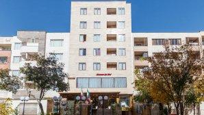 هتل آپارتمان جهان نما شیراز نمای بیرونی