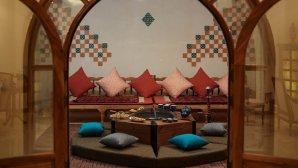 اقامتگاه سنتی خانه مسافر روزهای طلایی کرمان فضای داخلی اقامتگاه
