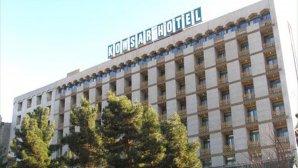 نمای بیرونی هتل بین المللی پارسیان کوثر