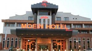 نمای بیرونی هتل معین