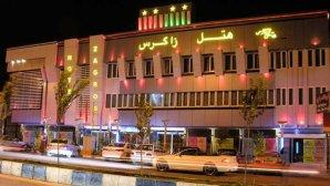 نمای بیرونی هتل زاگرس در شب