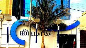 نمای بیرونی هتل ایرسا