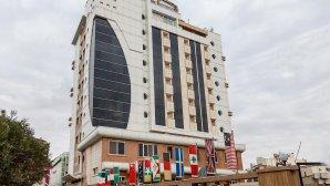 هتل دیپلمات مشهد نمای بیرونی