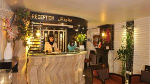 نمایی از پذیرش هتل الیان