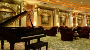 لابی هتل بزرگ تهران ۲