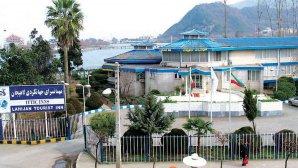 هتل جهانگردی لاهیجان نمای بیرون