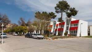 هتل جهانگردی شیراز نمای بیرونی
