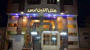 نمای بیرونی هتل آلتین ارس