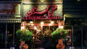 نمای بیرونی هتل گلستان