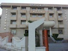 نمای  هتل آزادگان کرمانشاه
