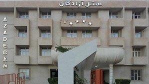 هتل آزادگان کرمانشاه نمای بیرونی