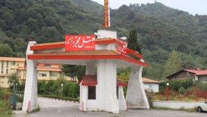 هتل فجر آبشار لاهیجان نمای بیرونی
