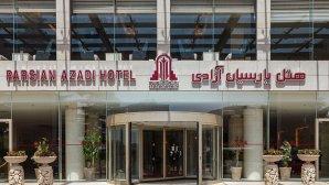 هتل پارسیان آزادی تهران نمای بیرونی 1